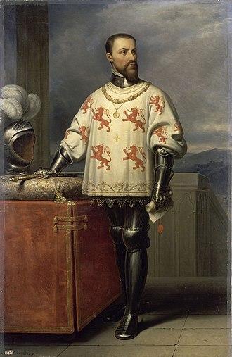Counts of Ligny - Image: Louis de Luxembourg, comte de Saint Paul, connétable de France en 1465
