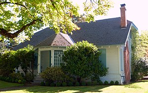 National Register of Historic Places listings in Marion County, Oregon - Image: Louise Adams House Silverton Oregon