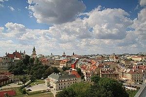 Lublin Voivodeship - Historic centre of Lublin