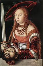 Lucas Cranach d. Ä. - Judith with the Head of Holofernes - WGA05721.jpg