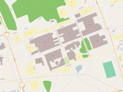 luleå universitet karta Luleå tekniska universitets byggnader på Porsön – Wikipedia luleå universitet karta