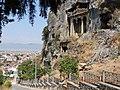 Lycian tombs Fethiye - panoramio.jpg