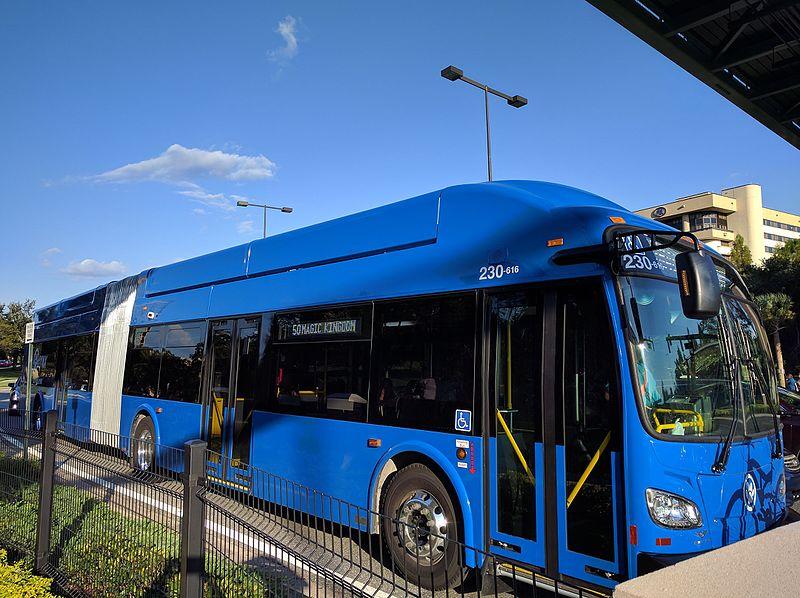 Como sair do aeroporto de Orlando de ônibus