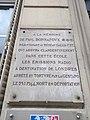 Lyon 7e - Plaque mémoire Paul Bonnafoux, rue Cavenne (mai 2019).jpg