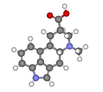 Lysergic acid - Image: Lysergic acid