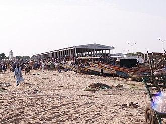 M'Bour - Image: M'bour harbor