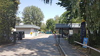 München — Campingplatz Thalkirchen (Einfahrt).jpg