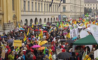Anti-nuclear movement in Germany - Anti-nuclear demonstration in Munich, March 2011.