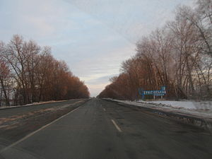 Highway M01 (Ukraine) - M01 in Chernihiv Oblast