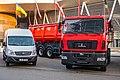 MAZ-643028 truck and MAZ-3650 LCV.jpg
