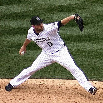 Adam Ottavino - Ottavino with the Colorado Rockies