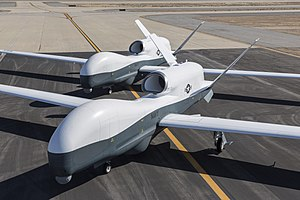 Northrop Grumman MQ-4C Triton - MQ-4Cs at Palmdale