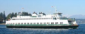 Evergreen State-class ferry - Image: MV Tillikum Large