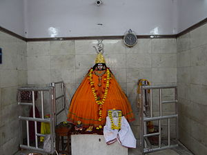 Tara (Devi) - Tara idol at Tarapith