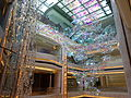 Macau 澳門JW萬豪酒店 JW Marriott Hotel lift lobby interior ceiling decor Oct 2015 DSC.JPG