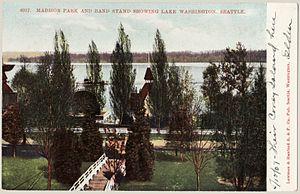 Madison Park, Seattle - The city park, circa 1907