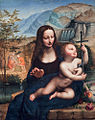 Madonna with Yarnwinder, att. Fernando Yáñez de la Almedina (16th c., NG of Scotland).jpg
