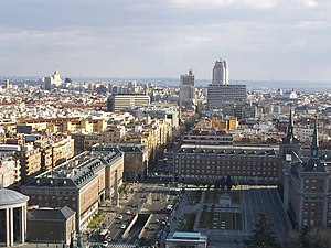 Ranked lists of Spanish municipalities - Madrid, capital of Spain