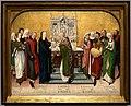Maestro della vita della vergine, presentazione di maria al tempio, 1460-75 ca.jpg