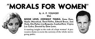 <i>Morals for Women</i> 1931 film by Mort Blumenstock
