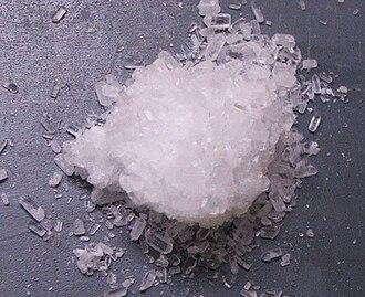 Magnesium sulfate - Epsomite (heptahydrate)