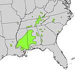 Magnolia macrophylla range map.jpg