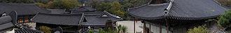 Magoksa - View of Magoksa Temple in South Korea