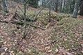 Mahdollinen tuliaseman kuoppa Imatralla Kotipellon mäellä.JPG
