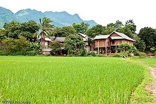 Mai Châu District District in Northwest, Vietnam