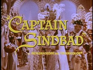 Captain Sindbad - Theatrical release main title frame