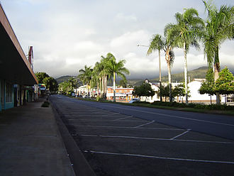 Atherton, Queensland - The main street of Atherton