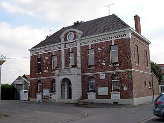 Gouzeaucourt - Image: Mairie de gouzeaucourt