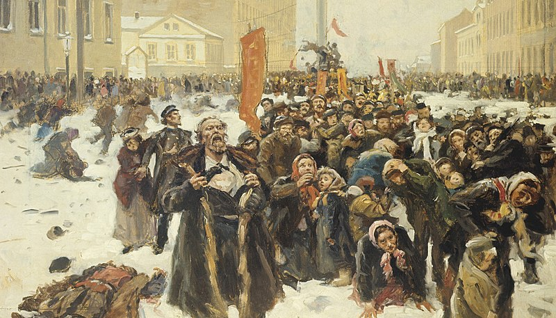 Файл:Makovsky - The 9th of January 1905.jpg