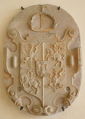 Coat of arms of the Polish–Lithuanian Commonwealth - Image: Malbork zamek 26