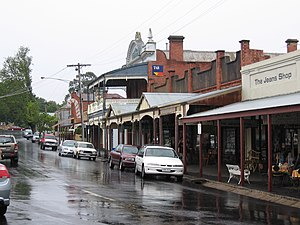 Maldon, Victoria - Historic streetscape at Maldon