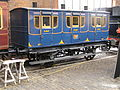 Manchester & Birmingham Railway, 1st class carriage, c1835, MOSI, Manchester, December 2011 (9884011034).jpg