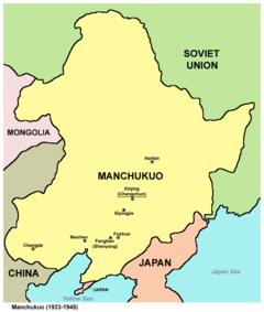 Manchukuo år 1939.