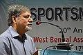 Manebendra Bhattacharyya Delivering Lecture - Quality Sportsperson - SPORTSMEDCON 2019 - SSKM Hospital - Kolkata 2019-03-17 0101.JPG