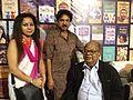 Mani Shankar Mukherjee with Poet Panchatapa and Poet Tapas Mahapatra 01.jpg