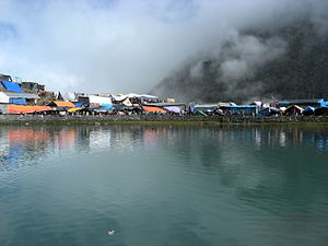 Ravi River - Source of Budhil River, in Himachal Pradesh a major tributary of the Ravi River
