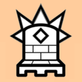 Mann white on light (an icon of the chess piece).png