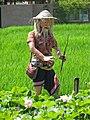 Mannequin de pêcheur à la ligne (Ubud) - panoramio.jpg