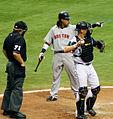 Manny asking Umpire.jpg