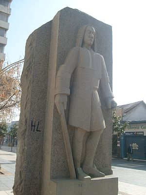 José Manso de Velasco, 1st Count of Superunda - Statue of Governor José Antonio Manso de Velasco in the city of Rancagua.
