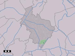 Nieuw-Balinge Place in Drenthe, Netherlands