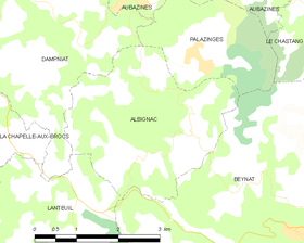 Map commune FR insee code 19003.png