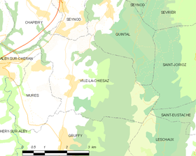 Map commune FR insee code 74310.png