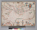 Map of Eastern Mediterranean. HM 34. PORTOLAN ATLAS, anonymous. France (?), ca. 1600.jpg