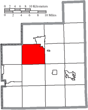 Munson Township, Geauga County, Ohio - Image: Map of Geauga County Ohio Highlighting Munson Township