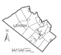 Map of Lehigh County, Pennsylvania No Text.png